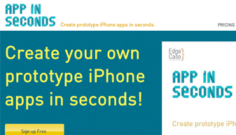 App in Seconds